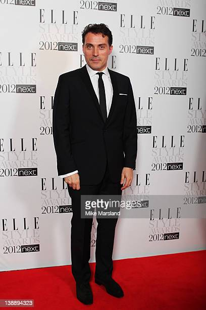 Actor Rufus Sewell attends the ELLE Style Awards 2012 at The Savoy Hotel on February 13 2012 in London England