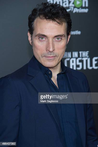 Actor Rufus Sewell attends The Man In The High Castle New York Series Premiere at Alice Tully Hall on November 2 2015 in New York City