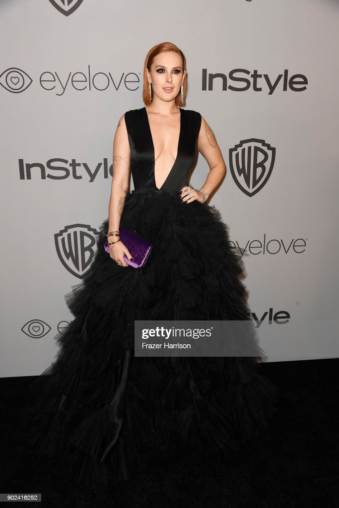 Actor Rumer Willis attends 19th Annual Post-Golden Globes Party hosted by Warner Bros. Pictures and InStyle at The Beverly Hilton Hotel on January 7, 2018 in Beverly Hills, California.