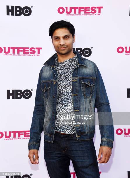 Actor Rupak Ginn arrives at the 2019 Outfest Los Angeles LGBTQ Film Festival Closing Night Gala Premiere of Before You Know It at The Theatre at Ace...