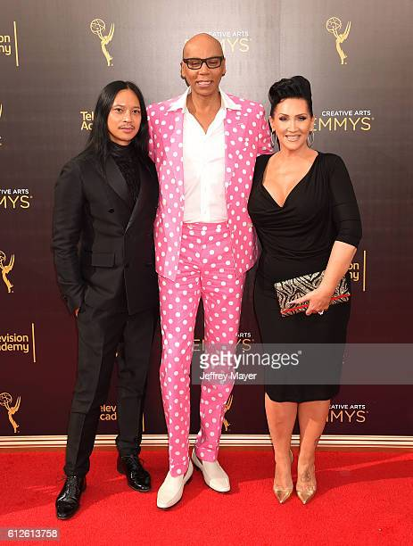 Actor RuPaul and guests attend the 2016 Creative Arts Emmy Awards held at Microsoft Theater on September 11 2016 in Los Angeles California