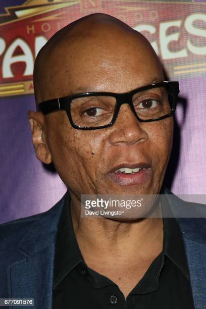 Actor RuPaul arrives at the premiere of 'The Bodyguard' at the Pantages Theatre on May 2 2017 in Hollywood California