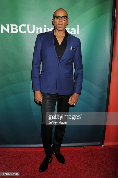 Actor RuPaul attends the 2015 NBCUniversal Summer Press Day held at the The Langham Huntington Hotel and Spa on April 02 2015 in Pasadena California