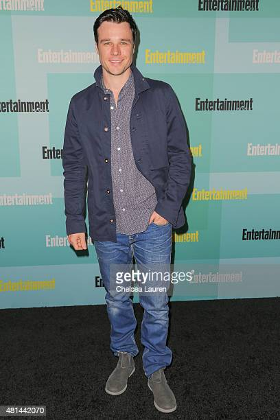 Actor Rupert Evans arrives at the Entertainment Weekly celebration at Float at Hard Rock Hotel San Diego on July 11 2015 in San Diego California