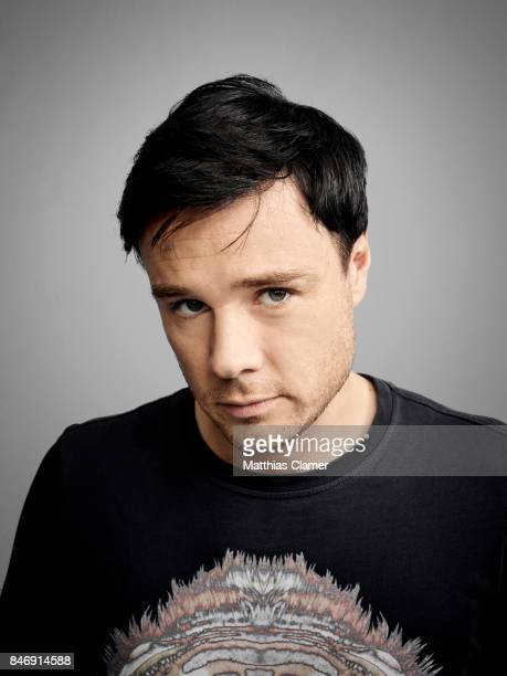 Actor Rupert Evans from 'The Man in the High Castle' is photographed for Entertainment Weekly Magazine on July 21 2016 at Comic Con in the Hard Rock...