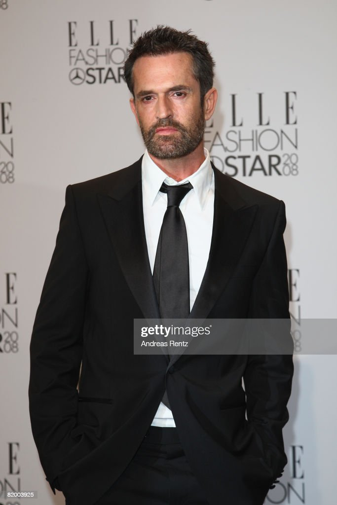Actor Rupert Everett arrives at the ELLE Fashion Star award ceremony during Mercedes Benz Fashion Week Spring/Summer 2009 at the Tempodrom on July 19, 2008 in Berlin, Germany.