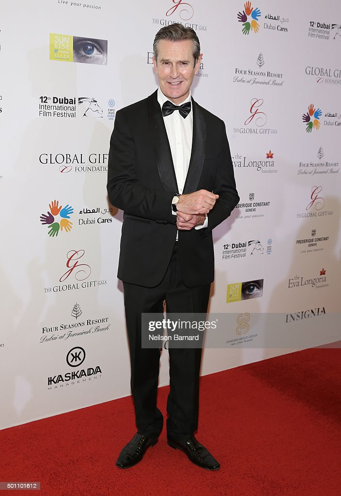 Actor Rupert Everett attends the Global Gift Gala during day four of the 12th annual Dubai International Film Festival held at the Four Seasons Hotel on December 12, 2015 in Dubai, United Arab Emirates.