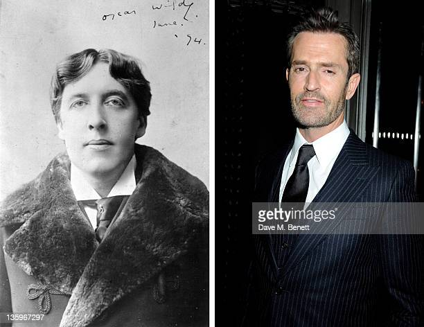 In this composite image a comparison has been made between Oscar Wilde and Actor Rupert Everett Oscar hype begins this week with the announcement of...