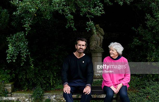 Actor Rupert Everett is photographed with his mother Sara for the Sunday Times magazine on August 12 2012 in London England