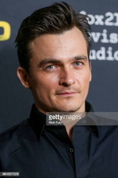 Actor Rupert Friend arrives at the ATAS Emmy screening of Showtime's 'Homeland' at NeueHouse Hollywood on April 3 2017 in Los Angeles California