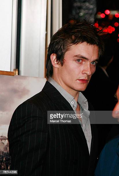 Actor Rupert Friend attends Atonement screening hosted by the Cinema Society and Chanel at the IFC Center on December 3 2007 in New York City