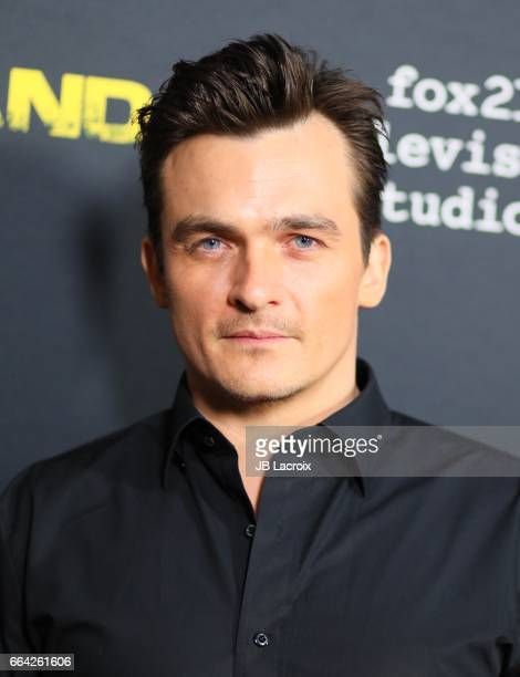 Actor Rupert Friend attends the ATAS Emmy Screening of Showtime's 'Homeland' on April 03 2017 in Los Angeles California