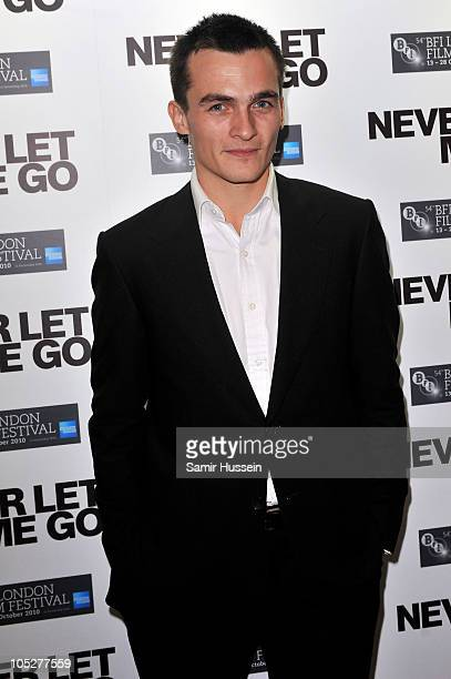 Actor Rupert Friend attends the 'Never Let Me Go' afterparty during the 54th BFI London Film Festival at Saatchi Gallery on October 13 2010 in London...