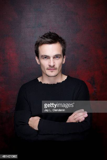 Actor Rupert Friend of 'Hitman Agent 47' poses for a portrait at ComicCon International 2015 for Los Angeles Times on July 9 2015 in San Diego...