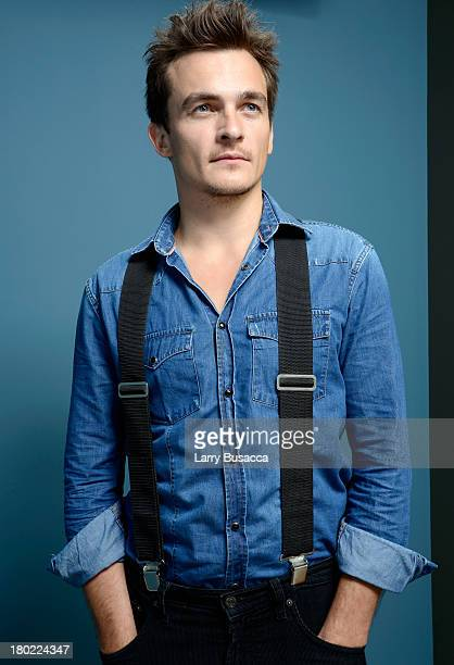 Actor Rupert Friend of 'Starred Up' poses at the Guess Portrait Studio during 2013 Toronto International Film Festival on September 10 2013 in...