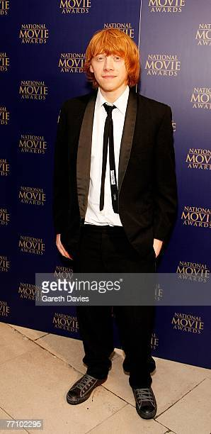 Actor Rupert Grint arrives at the National Movie Awards at the Royal Festival Hall on September 28 2007 in London England