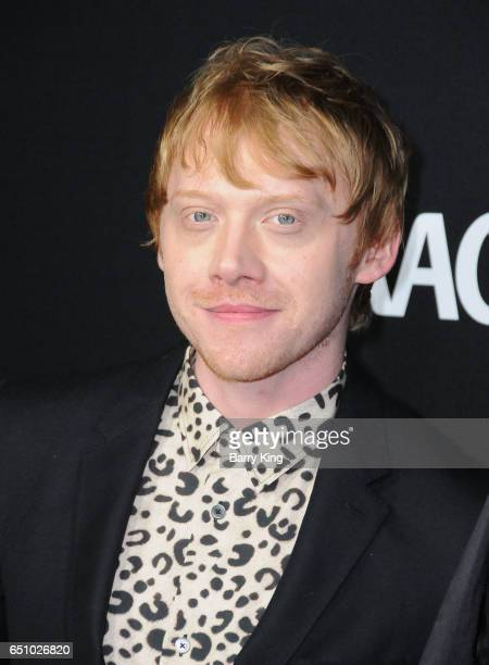 Actor Rupert Grint attends premiere screening of Crackle's 'Snatch' at Arclight Cinemas Culver City on March 9 2017 in Culver City California