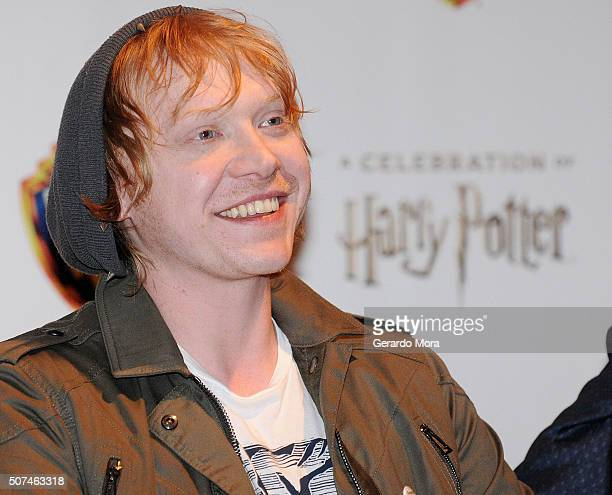 Actor Rupert Grint attends the 3rd Annual Celebration Of Harry Potter at Universal Orlando on January 29 2016 in Orlando Florida