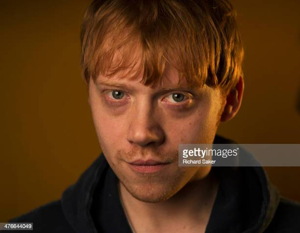 Actor Rupert Grint is photographed for the Observer on December 16 2013 in London England