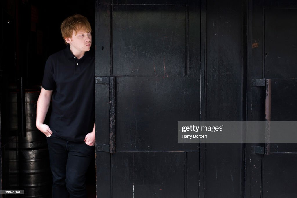 Actor Rupert Grint is photographed for the Sunday Times magazine on August 7, 2013 in London, England.