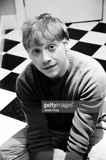 Actor Rupert Grint is photographed for Wonderland magazine on January 21 2014 in London England