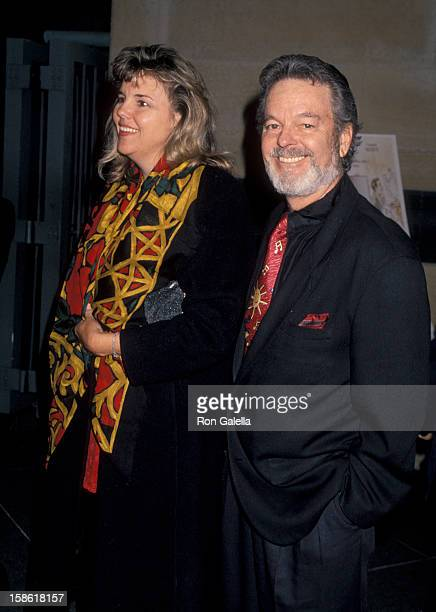 """Actor Russ Tamblyn and Bonnie Murray attending the premiere of """"Mrs. Parker and the Vicious Circle"""" on December 15, 1994 at the Los Angeles County..."""