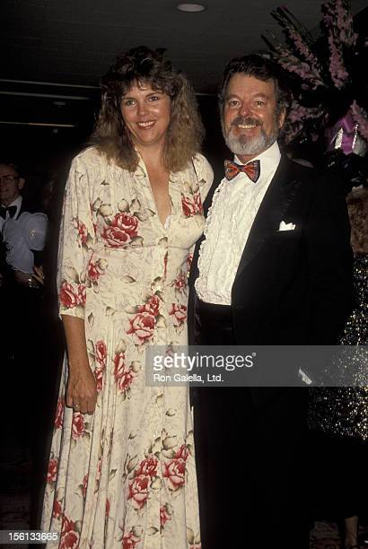 Actor Russ Tamblyn and wife Bonnie Murray attending 35th Annual Thalians Gala on October 13, 1990 at the Century Plaza Hotel in Century City,...