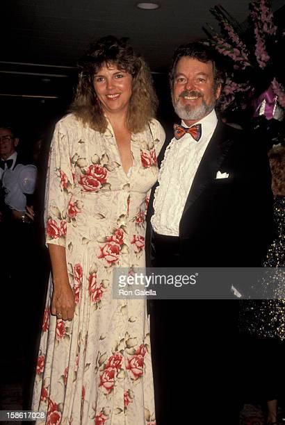 Actor Russ Tamblyn and wife Bonnie Murray attending 35th Annual Thalians Gala on October 13 1990 at the Century Plaza Hotel in Century City California