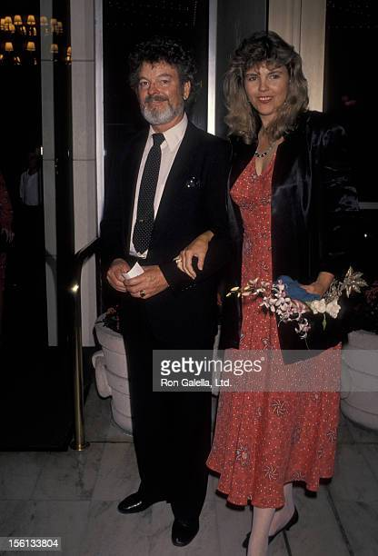 Actor Russ Tamblyn and wife Bonnie Murray attending on June 14, 1990 at the Century Plaza Hotel in Century City, California.