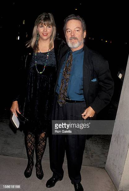 Actor Russ Tamblyn and wife Bonnie Murray attending PreHoliday Party Hosted by Norby Walter on November 22 1993 at Club Tatou in Beverly Hills...