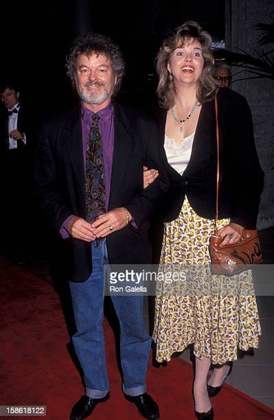 Actor Russ Tamblyn and wife Bonnie Murray attending the opening of Favor Watch Big Fish on May 7 1992 at the Beverly Theater in Beverly Hills...