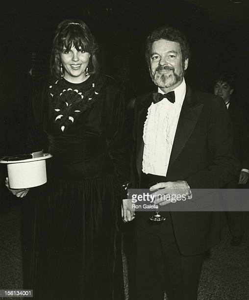 Actor Russ Tamblyn and wife Bonnie Murray attending the premiere of 'That's Dancing' on January 14 1985 at the New York Hilton Hotel in New York City...