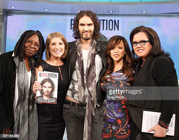 THE VIEW Actor Russell Brand is the guest today Monday October 13 2014 on Walt Disney Television via Getty Images's The View The View airs...