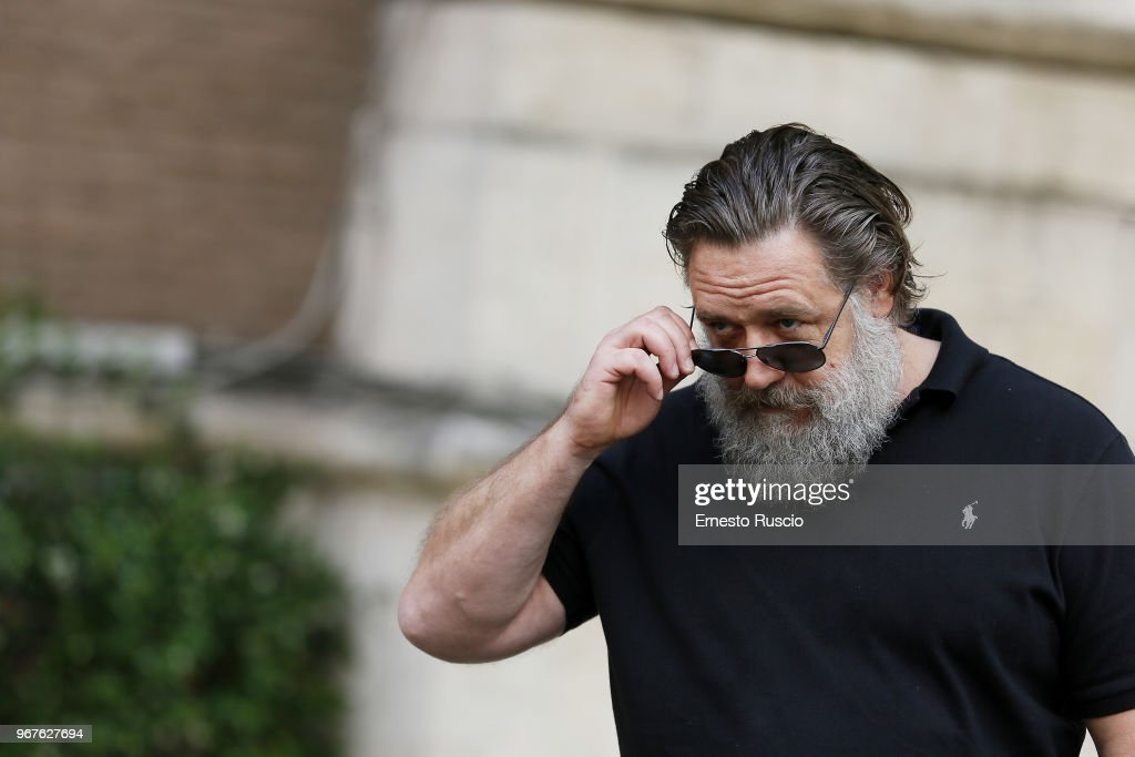 Actor Russell Crowe Attends The Il Gladiatore In Concerto News Photo Getty Images