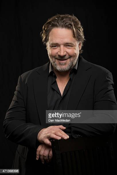 Actor Russell Crowe is photographed for USA Today on April 16 2015 in Beverly Hills California PUBLISHED IMAGE