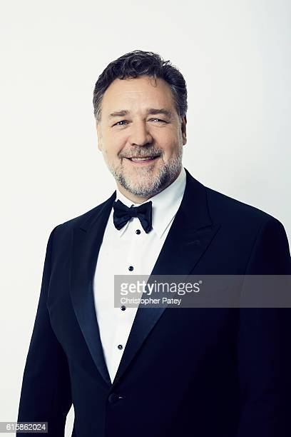 Actor Russell Crowe poses for a portrait at the 2016 American Cinematheque Awards on October 14 2016 in Beverly Hills California
