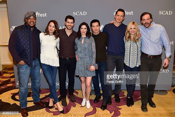 Actor Russell Hornsby actress Bree Turner actor David Giuntoli actress Bitsie Tulloch actor Reggie Lee actor Sasha Roiz actress Claire Coffee and...