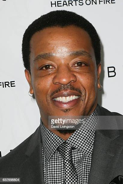 Actor Russell Hornsby arrives at the Entertainment Weekly celebration honoring nominees for The Screen Actors Guild Awards at the Chateau Marmont on...