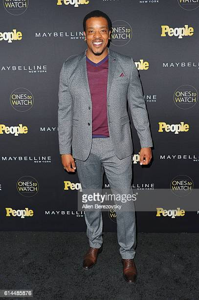 Actor Russell Hornsby attends People's Ones To Watch party at EP LP on October 13 2016 in West Hollywood California