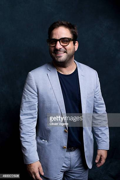 Actor Russell Steinberg is photographed on September 10 2015 in Deauville France