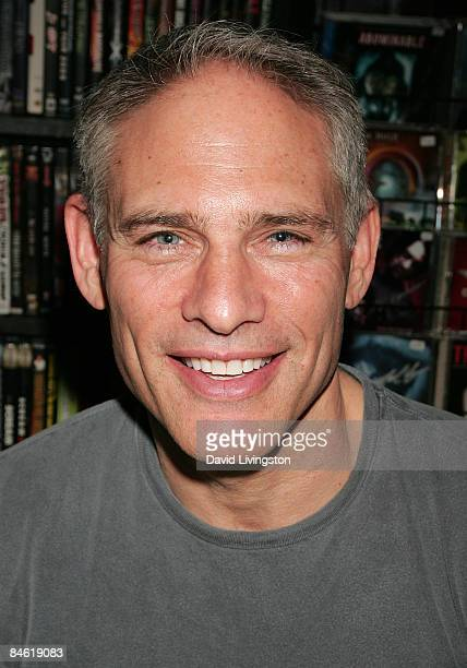 Actor Russell Todd attends Anchor Bay Entertainment's Jason Voorhees reunion at Dark Delicacies Bookstore on February 3 2009 in Burbank California