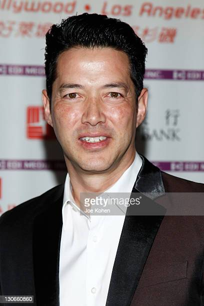 Actor Russell Wong attends the 'Snow Flower And The Secret Fan' DVD And BluRay Launch at DGA Theater on October 27 2011 in Los Angeles California