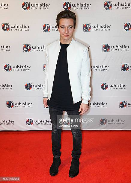 Actor Rustin Gresiuk attends the 15th Annual Film Festival at Whistler Conference Centre on December 5 2015 in Whistler Canada