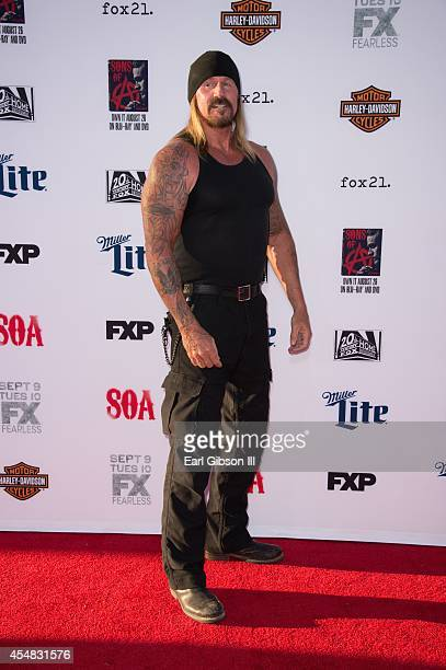 Actor Rusty Coones attends FX's Sons Of Anarchy Premiere at TCL Chinese Theatre on September 6 2014 in Hollywood California