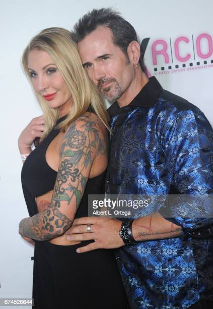 Actor Rusty Nail and Pamela Balian arrive for the 33rd Annual XRCO Awards Show held at OHM Nightclub on April 27 2017 in Hollywood California