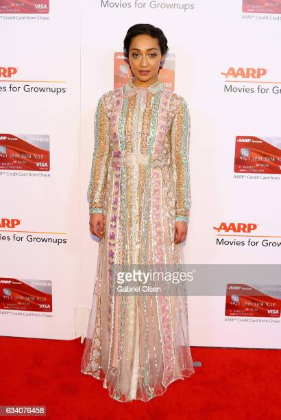 Actor Ruth Negga attends the 16th Annual AARP The Magazine's Movies For Grownups Awards at the Beverly Wilshire Four Seasons Hotel on February 6 2017...