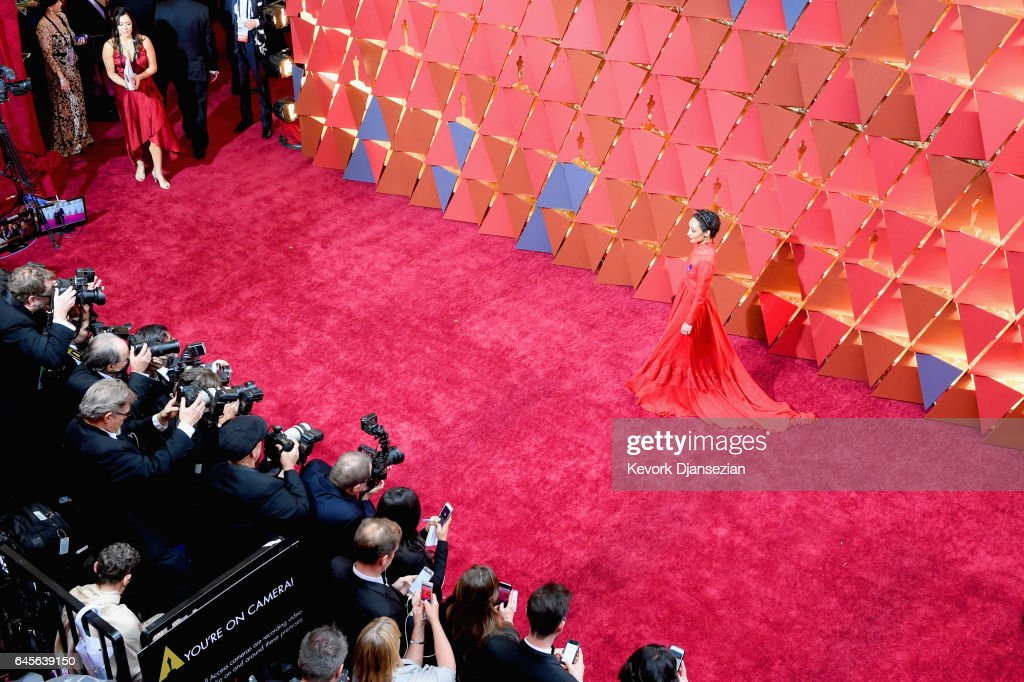 89th Annual Academy Awards - Red Carpet : News Photo