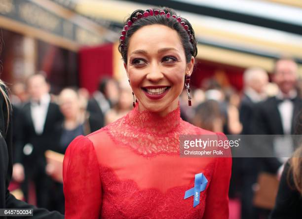 Actor Ruth Negga attends the 89th Annual Academy Awards at Hollywood Highland Center on February 26 2017 in Hollywood California