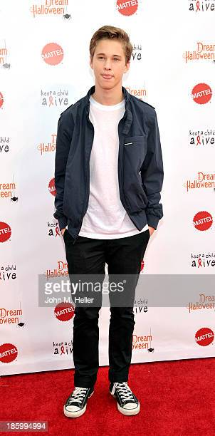 Actor Ryan Beatty attends the Keep A Child Alive's 20th Annual Dream Haloween at the Barker Hangar on October 26 2013 in Santa Monica California