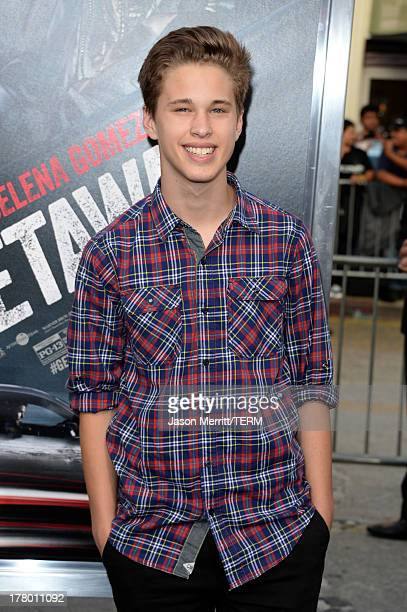 Actor Ryan Beatty attends the premiere of 'Getaway' presented by Warner Bros Pictures at Regency Village Theatre on August 26 2013 in Westwood...